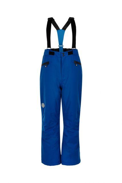 Color-Kids---Skibroek-met-zakken-voor-kinderen---Effen---Galactisch-blauw