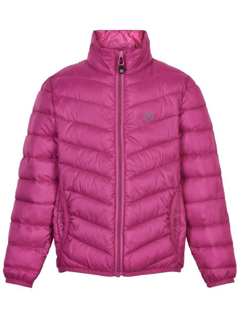 Color-Kids---Compacte-winterjas-voor-meisjes---Gewatteerd---Roze