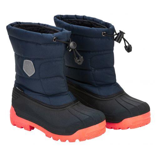 Color-Kids---Winterboots-voor-kinderen---Melange---Donkerblauw