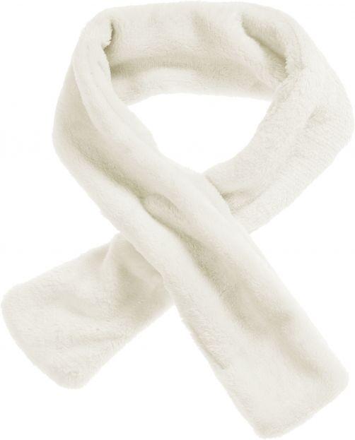 Playshoes---Fleece-sjaal-met-lusje---Gebroken-wit