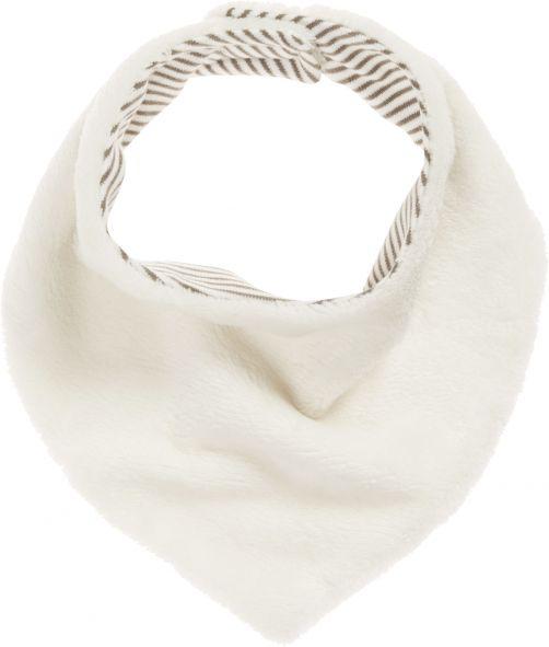 Playshoes---Fleece-sjaal-driehoek---Gebroken-wit