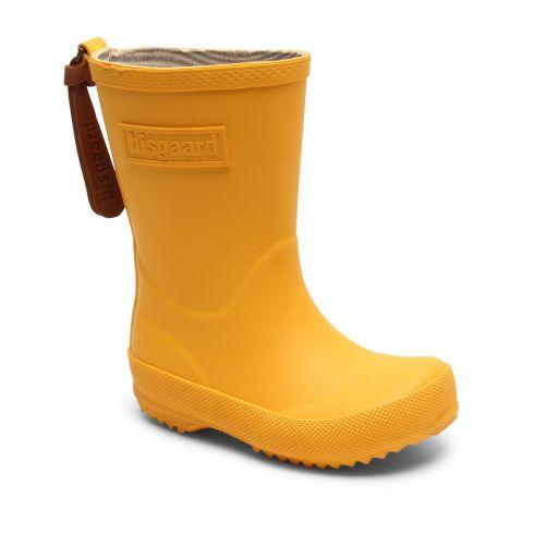 Bisgaard---Regenlaarzen-voor-kinderen---Basic---Geel