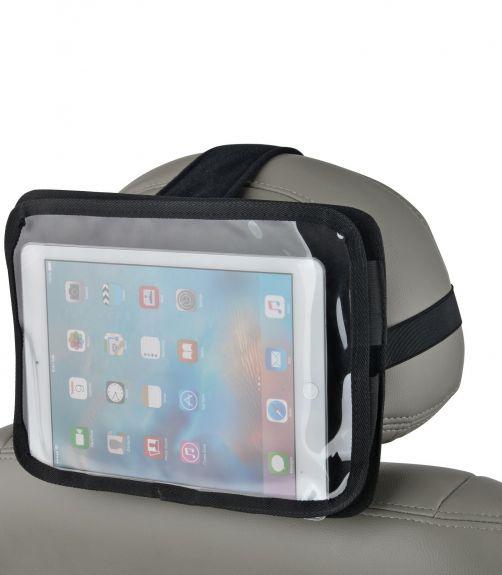 Altabebe---Tablet-houder-voor-aan-de-hoofdsteun-van-de-voorstoel---Zwart