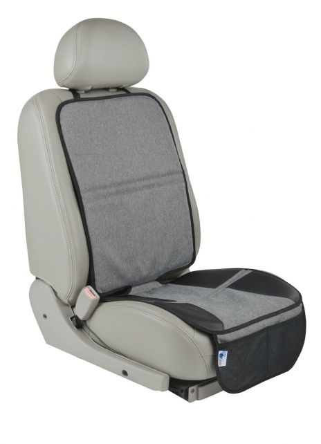 Altabebe---Beschermmat-voor-de-autostoel---XL---Grijs