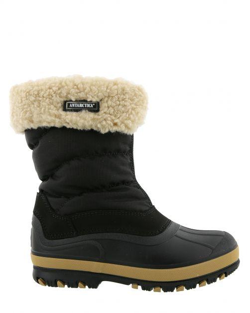 Antarctica---Snowboots-met-ritssluiting-voor-kinderen---AN-1220---Zwart