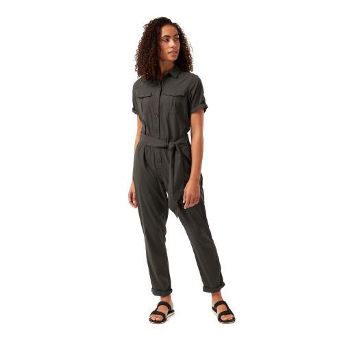 Craghoppers---UV-Jumpsuit-voor-dames---NosiLife-Rania---Donkergroen