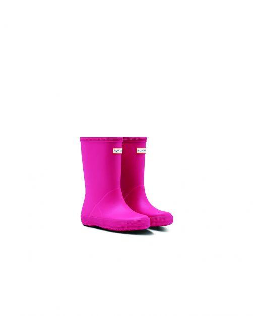 Hunter---Rainboots-for-children---Kids-First-Classic---Bright-Pink