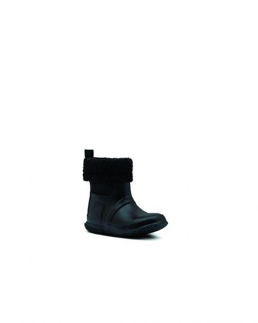 Hunter---Insulated-Sherpa-Boots-for-children---Original-Kids---Black-