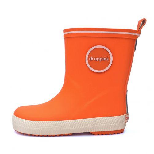 Druppies---Regenlaarsjes---Oranje