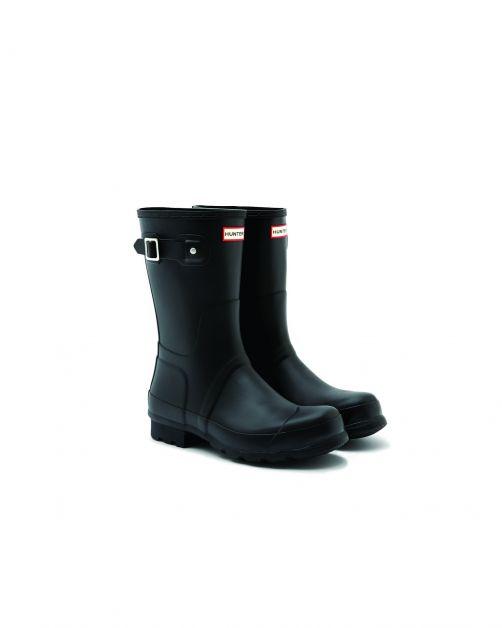 Hunter---Rainboots-for-men---Original-Short---Black