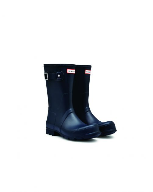 Hunter---Rainboots-for-men---Original-Short---Navy