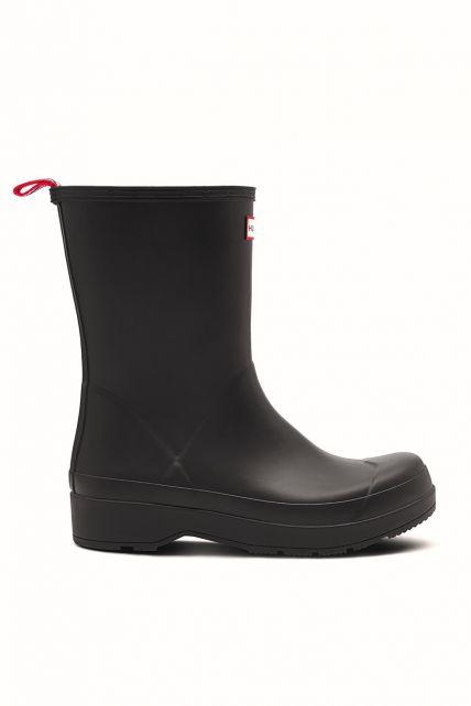 Hunter---Regenlaarzen-voor-heren---Original-Play-Boots---Mid-hoog---Zwart