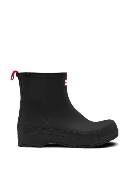 Hunter---Regenlaarzen-voor-heren---Original-Play-Boots---Kort---Zwart