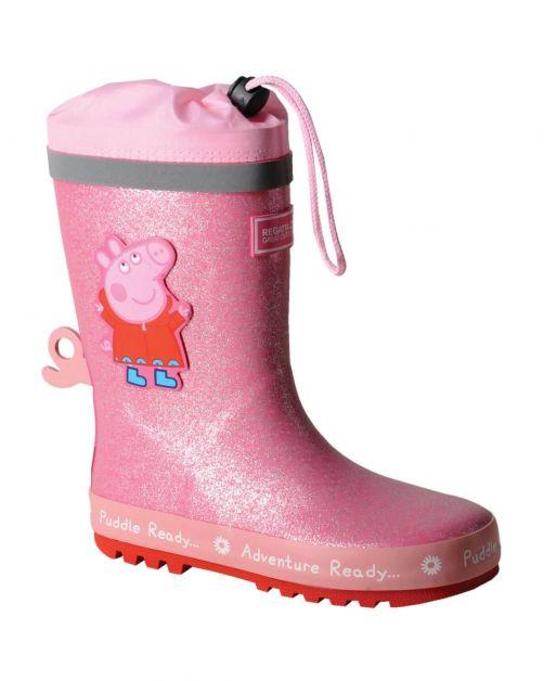 Regatta---Regenlaarzen-voor-kinderen---Peppa-Pig-Puddle---Roze