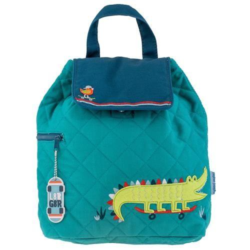 Stephen-Joseph---Gewatteerde-rugzak-voor-kinderen---Krokodil