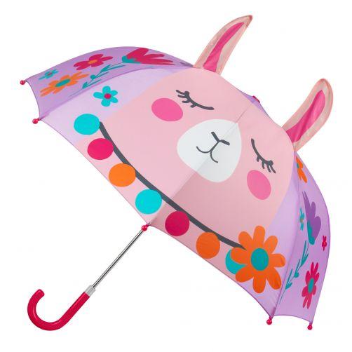 Stephen-Joseph---Pop-up-paraplu-voor-meisjes---Lama---Lila