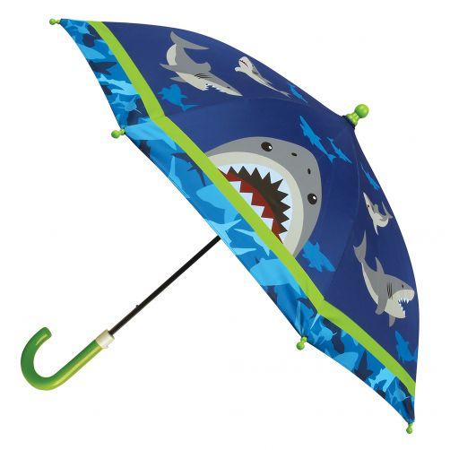 Stephen-Joseph---Paraplu-voor-jongens---Haai---Donkerblauw