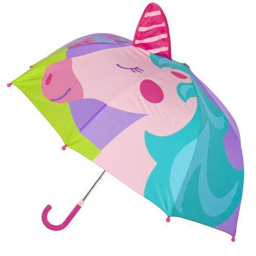 Stephen-Joseph---Pop-up-paraplu-voor-meisjes---Eenhoorn---Multi