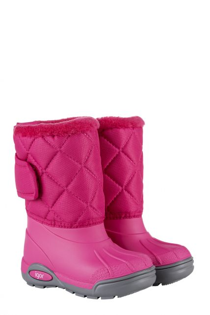Igor---Winterlaarzen-voor-kinderen---Topo-Ski-Nylon---Fuchsia