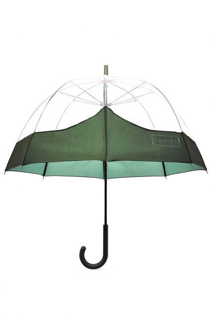 Hunter---Paraplu-voor-volwassenen---Original-Moustache-Bubble---Olijfgroen