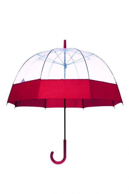 Hunter---Paraplu-voor-volwassenen---Original-Moustache-Bubble---Rood