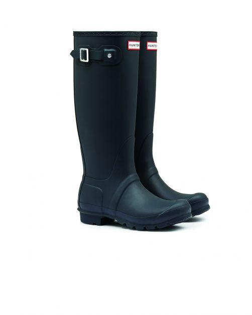 Hunter---Rainboots-for-women---Original-Tall---Navy