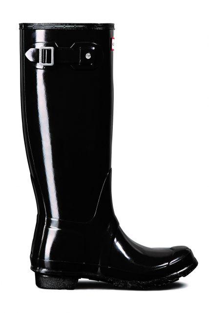 Hunter---Regenlaarzen-voor-dames---Original-Tall---Glanzend-Zwart