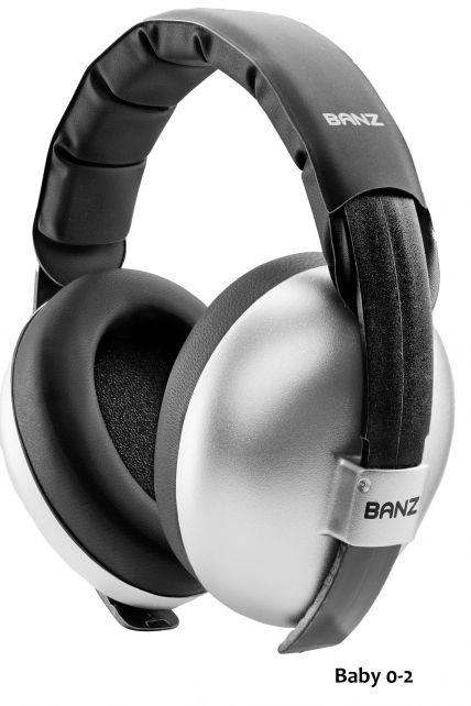 Banz---Geluidsreducerende-oorbeschermers-voor-baby's---Hear-no-Blare---Zilver