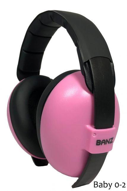 Banz---Geluidsreducerende-oorbeschermers-voor-kinderen---Hear-no-Blare---Bloemblad-roze